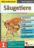 Säugetiere - Merkmale, Lebensraum, Systematik (eBook, PDF)