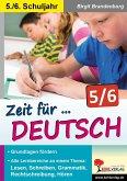 Zeit für Deutsch / Klasse 5-6 (eBook, PDF)