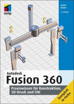 Autodesk Fusion 360 (eBook, PDF) - Ridder, Detlef