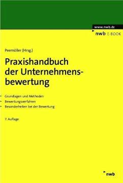 Praxishandbuch der Unternehmensbewertung (eBook, PDF)