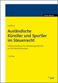 Ausländische Künstler und Sportler im Steuerrecht (eBook, PDF)