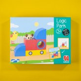 Jumbo 53473 - Logic Park, Lernspiel, Farben und Formen