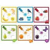 Jumbo 53475 - 6 Verschiedene Farben Puzzle