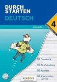 Durchstarten 4. Klasse - Deutsch Mittelschule/AHS - Lernhilfe