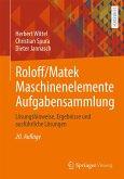 Roloff/Matek Maschinenelemente Aufgabensammlung