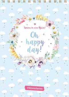 Spring in eine Pfütze! Oh happy day! Wandkalender 2022 - ViktoriaSarina