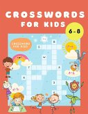 Crosswords for Kids: Word Search Book for Kids Ages 6-8 - Crossword Puzzle Books for Children - Find a Word Activity Book - Vocabulary Lear