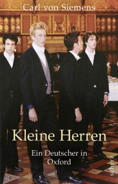 Kleine Herren (Mängelexemplar) - Siemens, Carl von