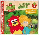 Die Karls Bande - Die Helden-Höhle, 1 Audio-CD