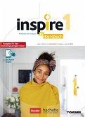 Inspire 1 - Ausgabe für den deutschsprachigen Raum. Kursbuch mit Audio-/Videos online, Code und Parcours digital®