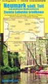 Landkarte Neumark - südlicher Teil