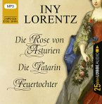 Die Rose von Asturien / Die Tatarin / Feuertochter, 3 MP3-CD