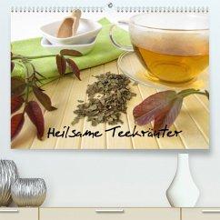 Heilsame Teekräuter (Premium, hochwertiger DIN A2 Wandkalender 2022, Kunstdruck in Hochglanz)
