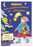 Conni Gelbe Reihe (Beschäftigungsbuch): Mein Schablonen-Malbuch für Weihnachten