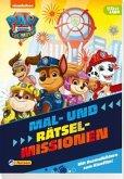 PAW Patrol - Der Kinofilm: Mal- und Rätselblock
