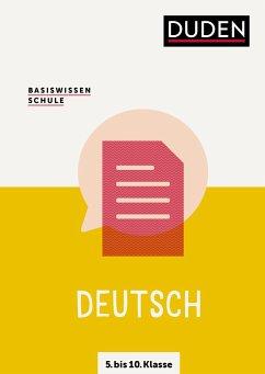 Basiswissen Schule - Deutsch 5. bis 10. Klasse - Pews-Hocke, Christa
