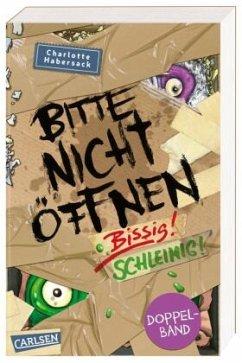 Doppelband: Bissig! & Schleimig! / Bitte nicht öffnen Bd.1+2 - Habersack, Charlotte