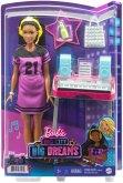Mattel GYG40 Barbie Big City, Big Dreams Brooklyn Aufnahmestudio Spielset mit