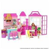 Mattel HBB91 Barbie Restaurant Spielset und Puppe