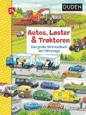 Duden 24+: Autos, Laster & Traktoren: Das große Wimmelbuch der Fahrzeuge