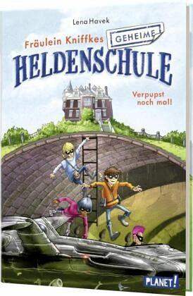 Buch-Reihe Fräulein Kniffkes geheime Heldenschule