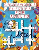 Crosswords Puzzles for Adults 2021: 100 Cross Words Activity Puzzle Book for Men, Women, Adults and Seniors - Crossword Puzzle Books