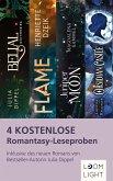 4 kostenlose Romantasy-Leseproben (eBook, ePUB)
