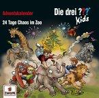 Die drei ??? Kids - Adventskalender - 24 Tage Chaos im Zoo