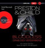 Bloodless - Grab des Verderbens / Pendergast Bd.20 (2 MP3-CDs)