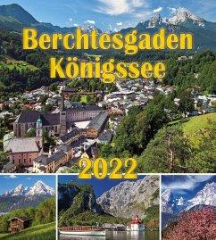 Berchtesgaden Königssee Postkartenkalender 2022