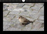 Redensarten Teil 1 (Wandkalender 2022 DIN A4 quer)