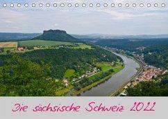Die sächsische Schweiz 2022 (Tischkalender 2022 DIN A5 quer)