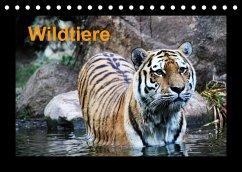 Wildtiere (Tischkalender 2022 DIN A5 quer)