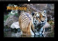 Wildtiere (Wandkalender 2022 DIN A3 quer)