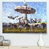 Heimatliches Bayern in Aquarell CH-Version (Premium, hochwertiger DIN A2 Wandkalender 2022, Kunstdruck in Hochglanz)