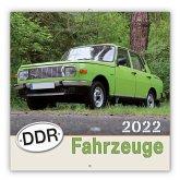 Trötsch Broschürenkalender DDR-Fahrzeuge 2022