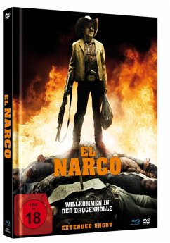 El Narco Limited Mediabook Edition Uncut - Alcázar,Damián/Cosio,Joaquín