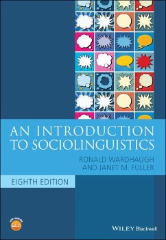 An Introduction to Sociolinguistics (eBook, PDF) - Wardhaugh, Ronald; Fuller, Janet M.