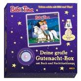 Bibi & Tina: Deine große Gutenacht-Box mit Buch und Nachttischlampe