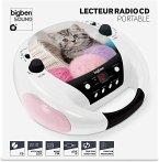 BigBen Kids, Tragbares Radio CD-Player CD52, Cats III