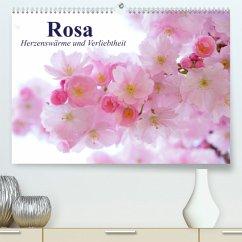 Rosa. Herzenswärme und Verliebtheit (Premium, hochwertiger DIN A2 Wandkalender 2022, Kunstdruck in Hochglanz)