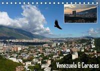 Venezuela & Caracas (Tischkalender 2022 DIN A5 quer)