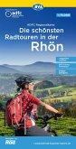 ADFC-Regionalkarte Die schönsten Radtouren in der Rhön