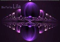 Die Farbe Lila / CH-Version (Wandkalender 2022 DIN A2 quer)