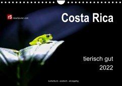 Costa Rica tierisch gut 2022 (Wandkalender 2022 DIN A4 quer)