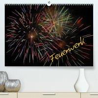 Feuerwerk (Premium, hochwertiger DIN A2 Wandkalender 2022, Kunstdruck in Hochglanz)