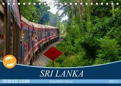 Sri Lanka - Eine Bilder-Reise (Tischkalender 2022 DIN A5 quer)