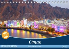 Oman - Eine Bilder-Reise (Tischkalender 2022 DIN A5 quer)