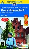 Radwanderkarte BVA Radregion Münsterland Kreis Warendorf mit 100 Schlösser Route 1:50.000, reiß- und wetterfest, GPS-Tra