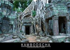 Kambodscha - Vergessenes Land (Wandkalender 2022 DIN A3 quer)